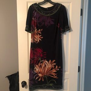 Midi Floral Jones New York dress size 8